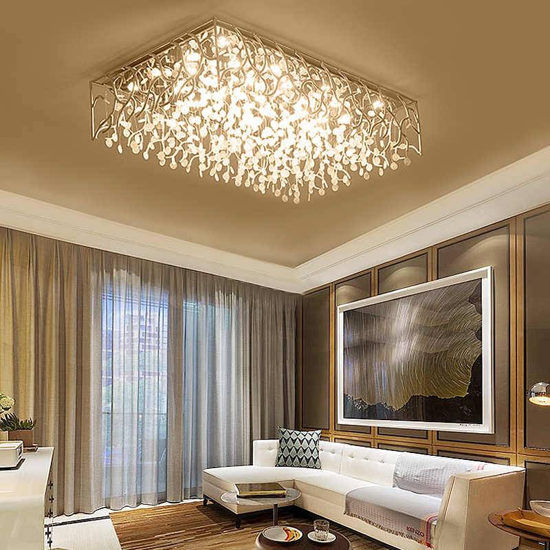 Люстры и светильники для низких потолков