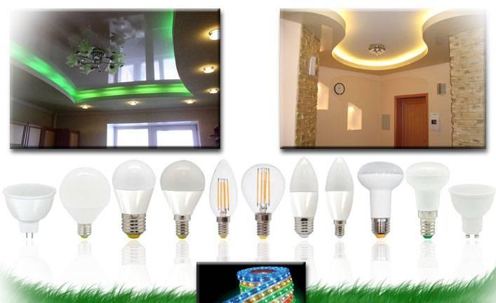 Освещение led: применение и принцип работы