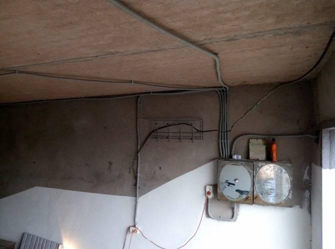 Электропроводка в гараже своими руками: что нужно знать?