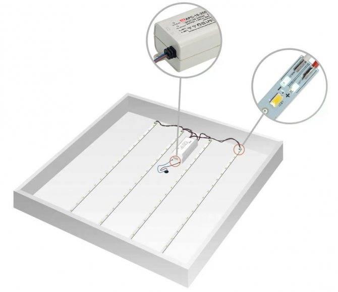Технология монтажа точечного светильника в натяжных потолках