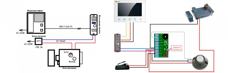 Как подключить домофон к подъездному домофону