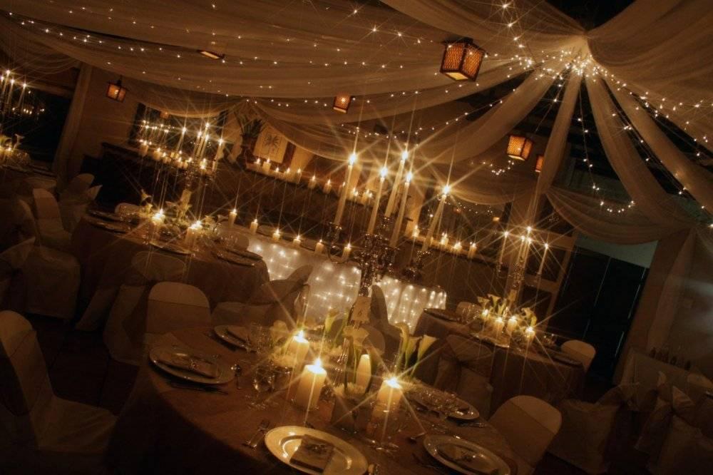 Оформление зала на свадьбу своими руками (210+ фото идей)