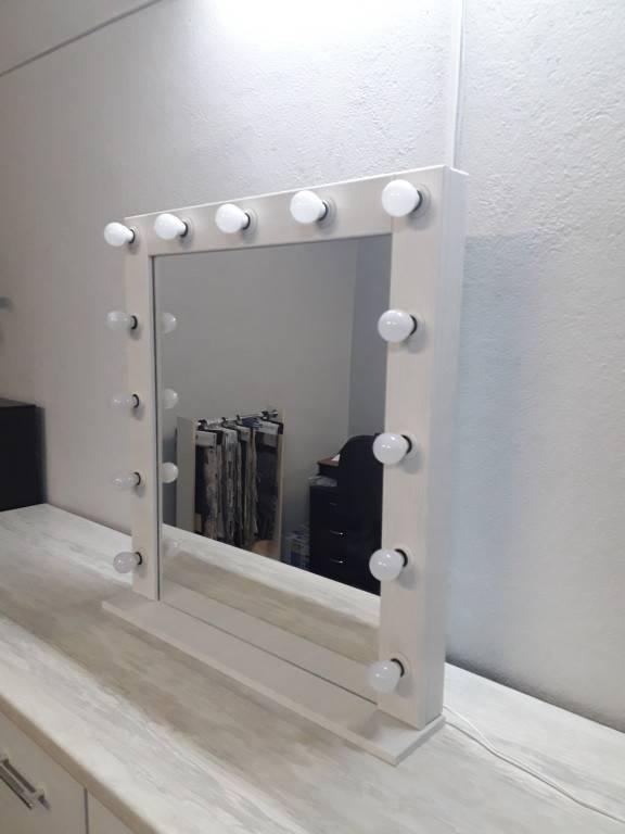 Как сделать гримерное зеркало с подсветкой своими руками ???? мебель и декор