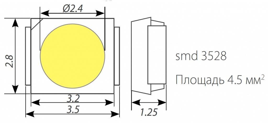 Светодиоды smd 3258: характеристики, параметры светдиодной ленты, отличия от 5050, datasheet, rgb и одноцветные