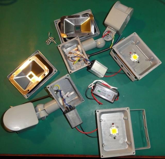 Что делать, если моргает светодиодный прожектор?