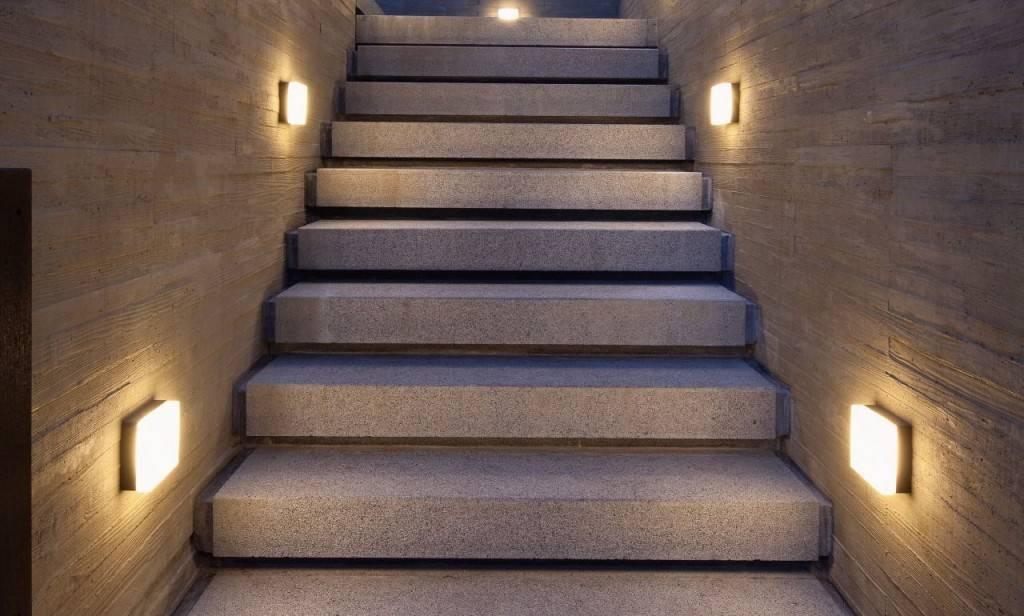 Подсветка лестницы своими руками