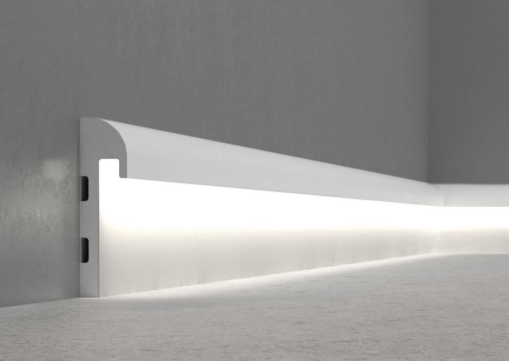 Подсветка пола - способы организации ночного освещения