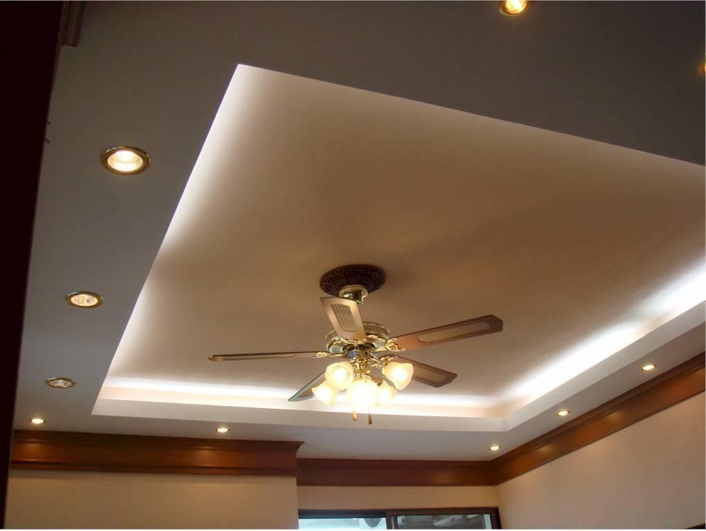 Как правильно монтировать подсветку в натяжной потолок или в двухуровневый из гкл: варианты крепления, способы комбинирования светодиодов и лед ламп