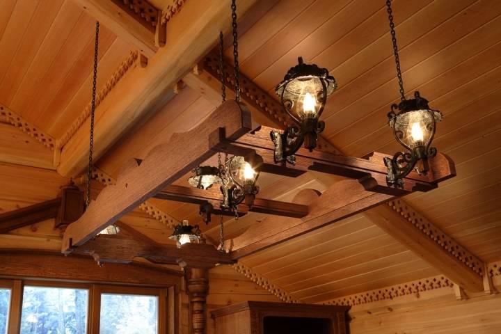Освещение террасы: организация, требования безопасности и выбор светильников