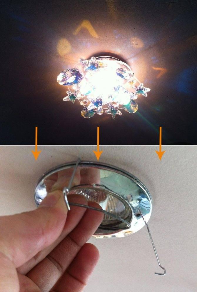 Какие светильники для натяжных потолков светодиодные лучше – обзор вариантов