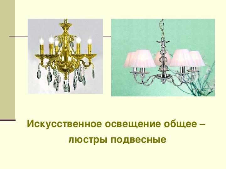 Требования и нормы искусственного и естественного освещения