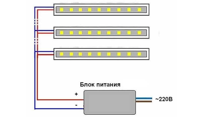 Как подключить светодиодную ленту?