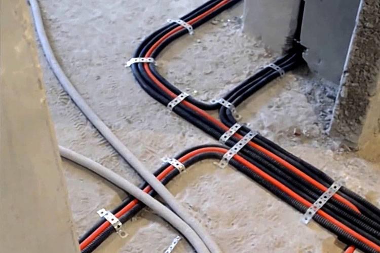 Как проложить проводку в квартиру своими руками: схема проводки, подбор материалов и оборудования