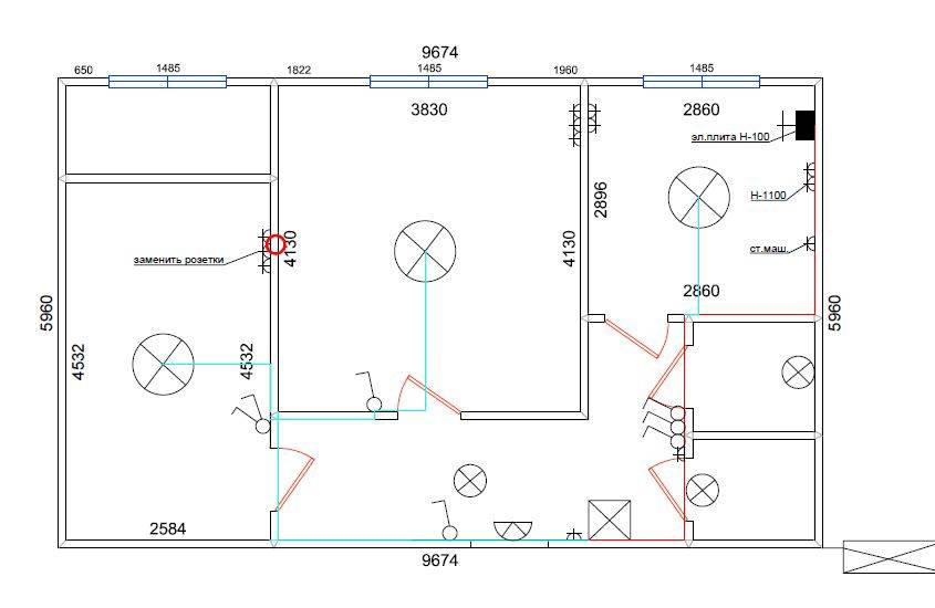Замена проводки в панельном доме – особенности и возможные варианты осуществления этого процесса