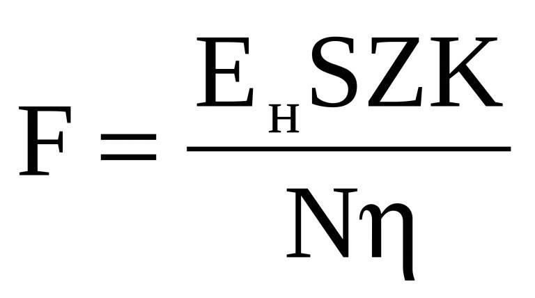 Расчёт количества и мощности точечных светодиодных светильников