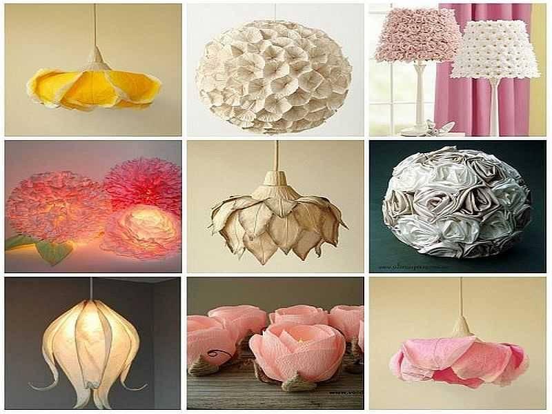 Изготовление люстры своими руками из подручных материалов: варианты люстр для дома, абажур для декора