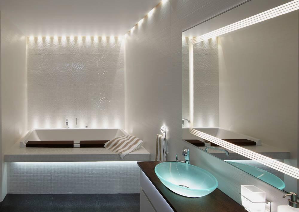 Светодиодная подсветка: варианты для разных комнаты, потолок, идеи в интерьере