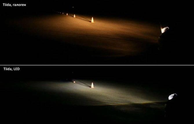 Галогеновые ксеноновые и светодиодные лампы - что лучше?