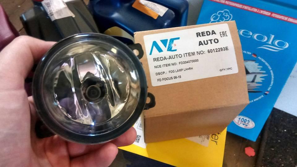 Какие лампы используются в ford focus 2 и как их поменять