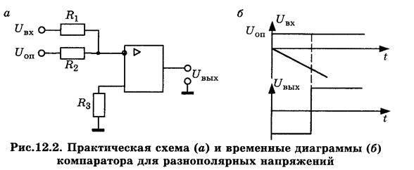 Компаратор напряжения: как работает, схема на оу, цифровые и аналоговые компараторы
