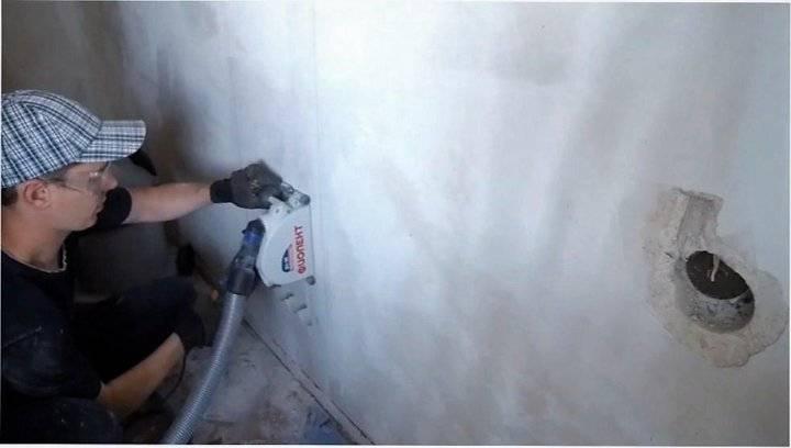 Как штробить стены под проводку в панельном доме правильно: можно ли своими руками, горизонтальное штробление несущих стен