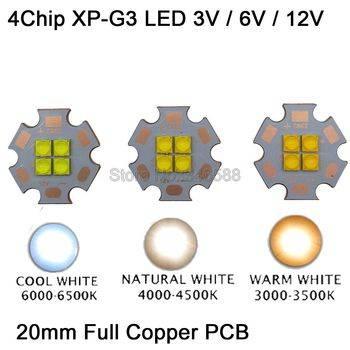 Cree xp-g3: новое поколение светодиодов на платформе xpg