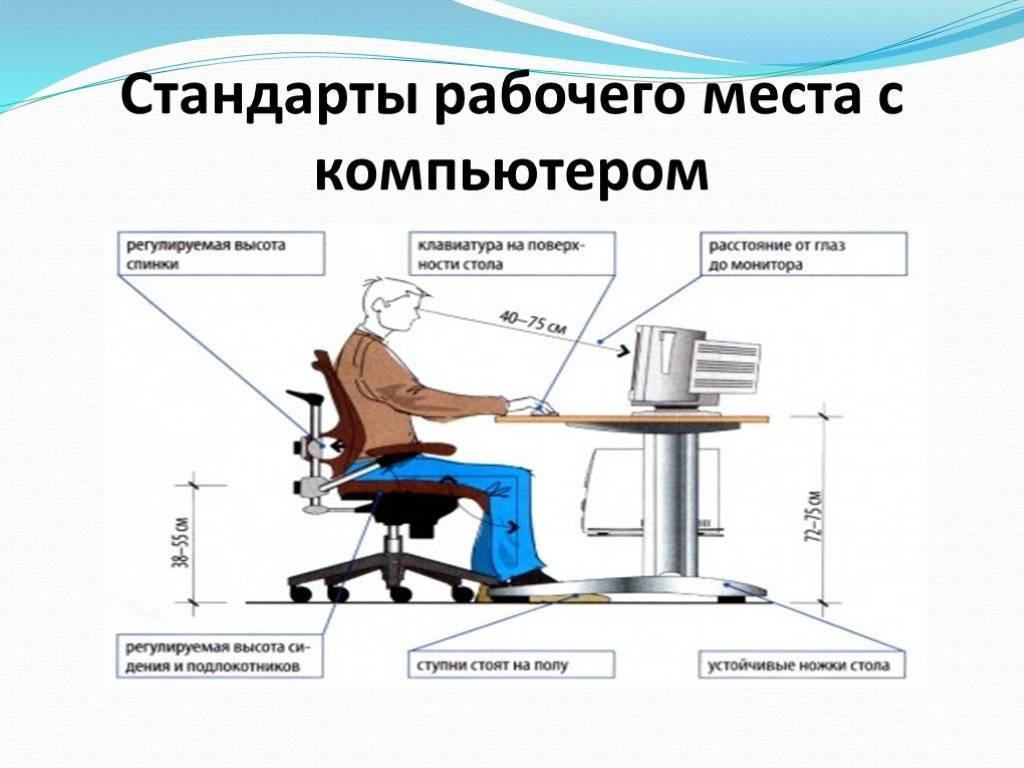 Уровень освещенности на рабочем месте - статьи центра аттэк