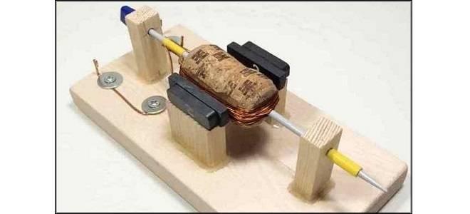 Электродвигатель своими руками - 100 фото постройки полноценного устрйоства