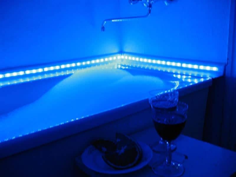 Подводные светильники для бассейна - как установить и подключить пошаговая инструкция.