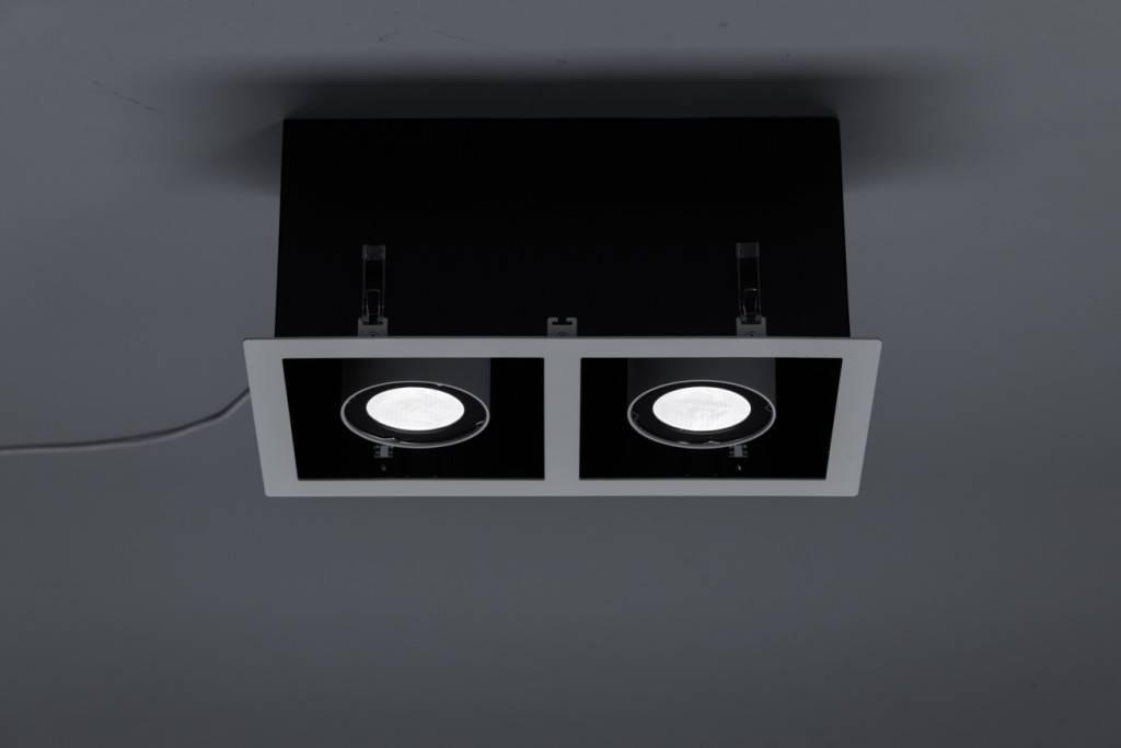 Выбор и применение точечных светильников в современном и классическом интерьере, разнообразие видов и способов монтажа ламп - 24 фото