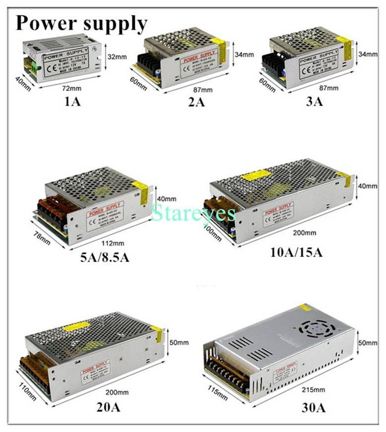 Блок питания 12 в для светодиодной ленты: схема подключения бп к led ленте своими руками