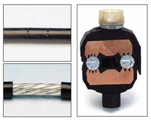Прокалывающие зажимы для проводов сип: принцип действия — ремонт и строительство