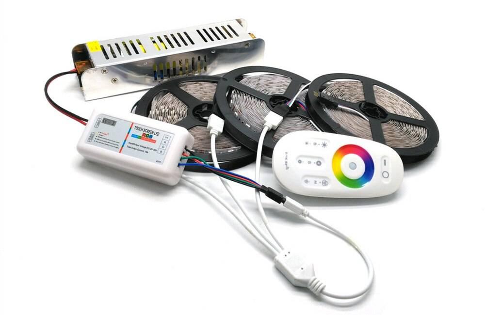 Контроллер для светодиодной ленты - 7 ответов на частые вопросы. как правильно выбрать и подключить.