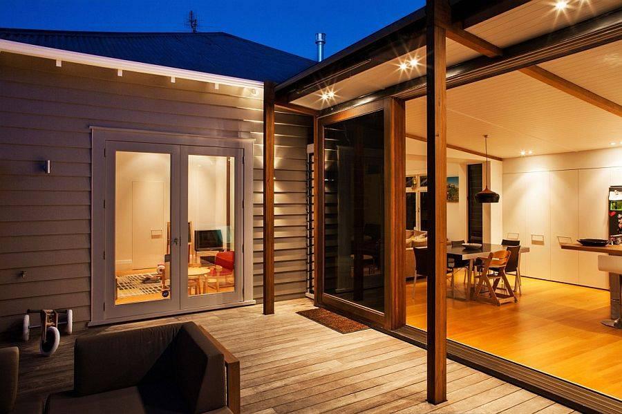 Освещение террасы - как подобрать светильники