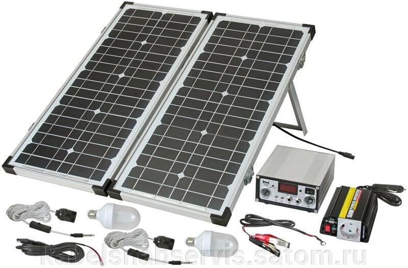 Эффективность работы солнечных батарей и коллекторов зимой