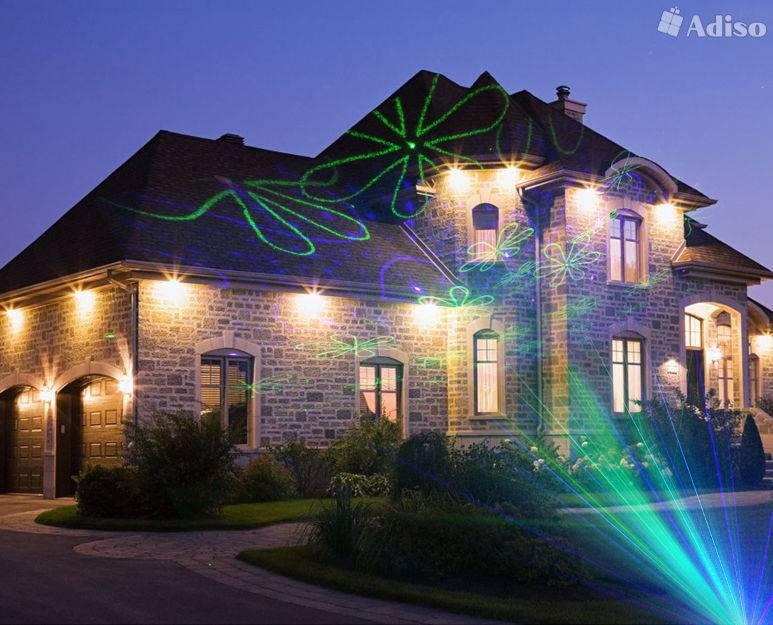 4 вида освещения фасадов зданий и частного дома - нормы, ошибки и правила выбора светильников