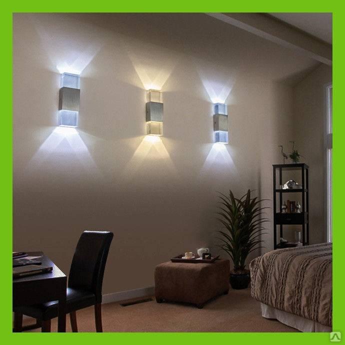 Подсветка стен: популярные способы и идеи реализации