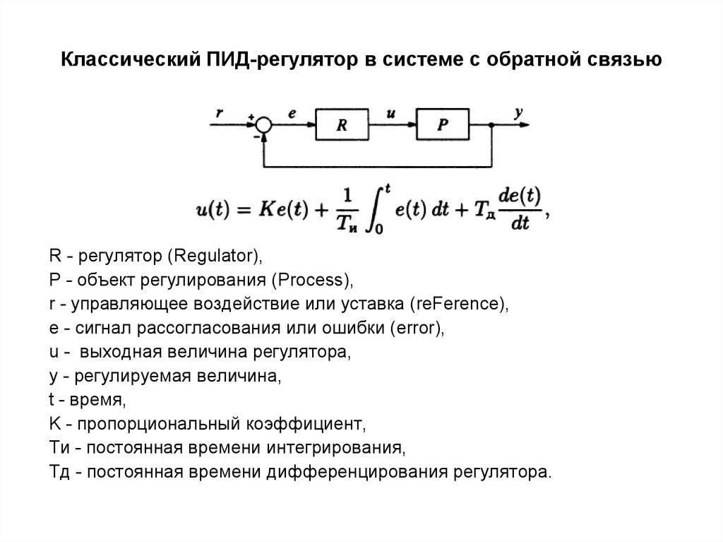Настройка пид-регуляторов: так ли страшен чёрт, как его малюют? часть 1. одноконтурная система / хабр