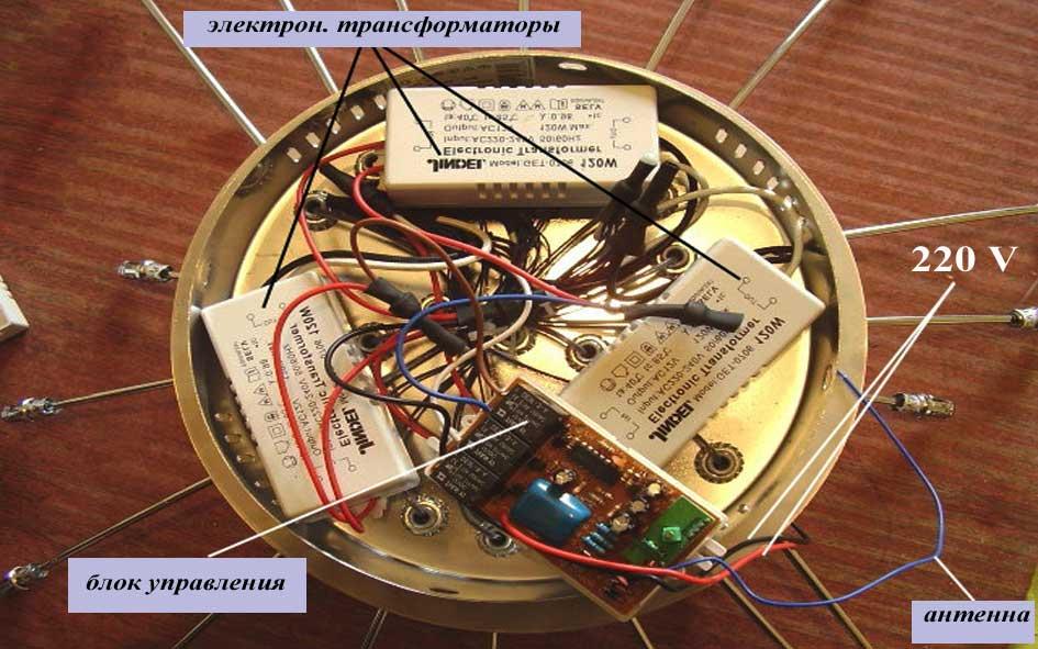 Ремонт люстры с дистанционным управлением: своими руками, в домашних условиях