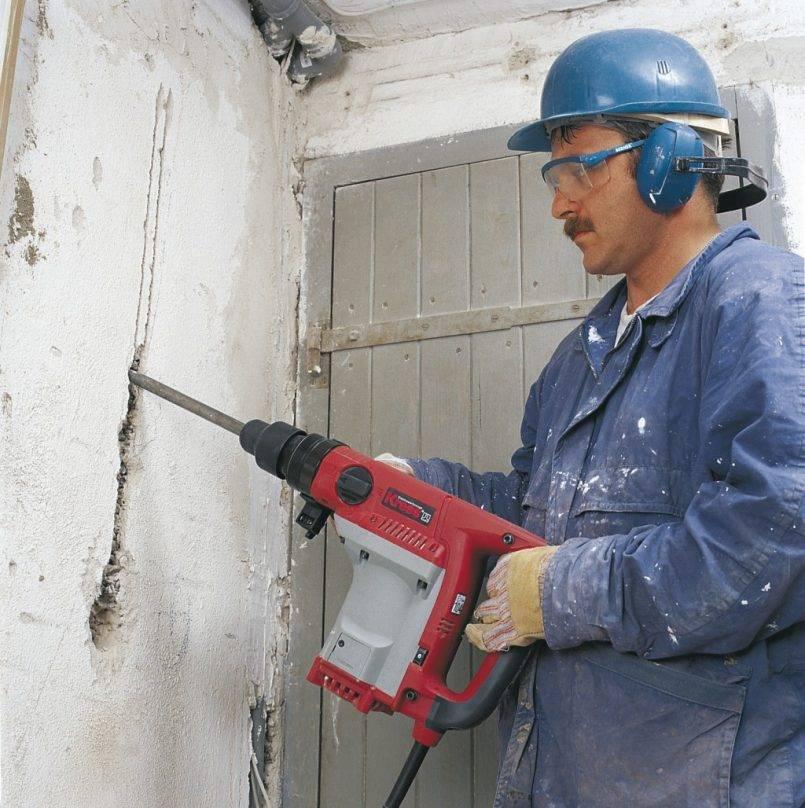 Штробление стен под проводку: виды инструментов, правила, советы