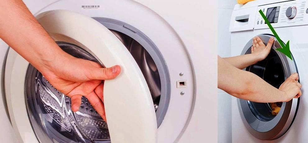 4 способа, как открыть стиральную машину, если дверь заблокирована и не открывается