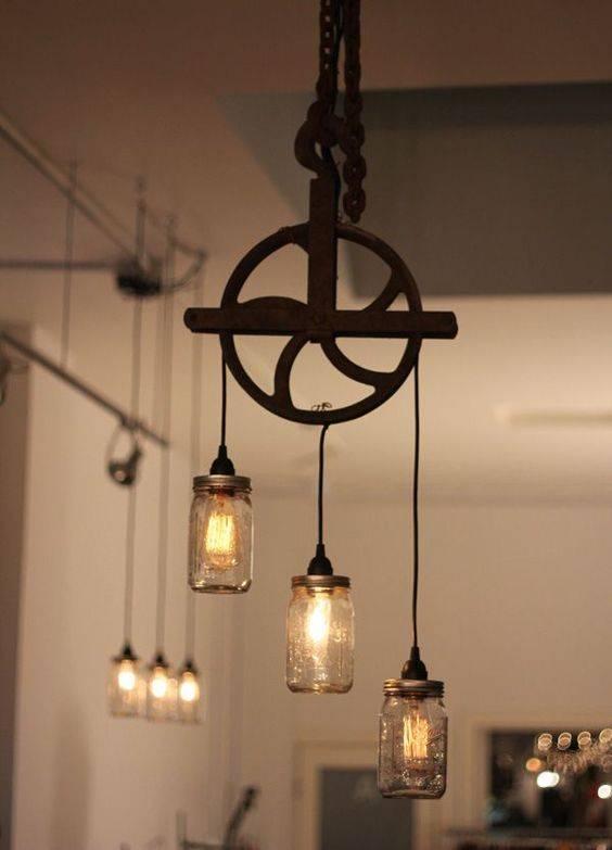 Как сделать люстру своими руками: мастер-классы создания оригинальных приборов освещения