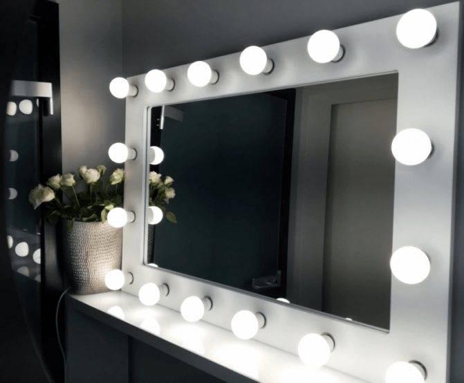 Гримерное зеркало: 125 фото оптимальных элегантных решений и правила их подбора