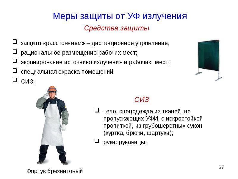 Защита от опасных излучений и электростатических зарядов
