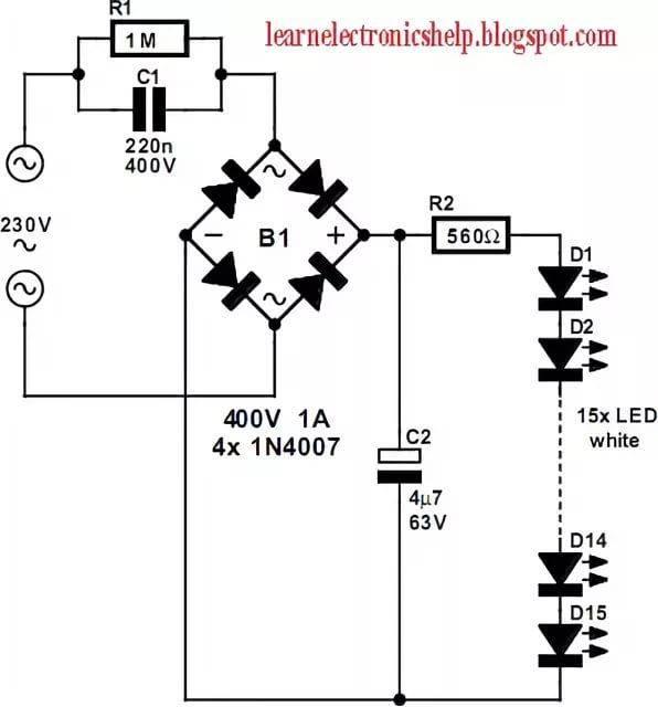 Как сделать ремонт драйверов светодиодных ламп