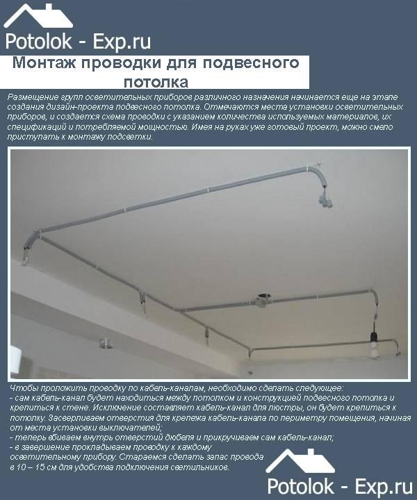 Как правильно проводится установка наружного освещения