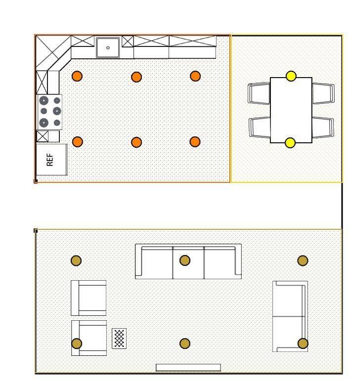 Как лучше и правильно расположить точечные светильники на натяжном потолке: советы профессионалов и фото