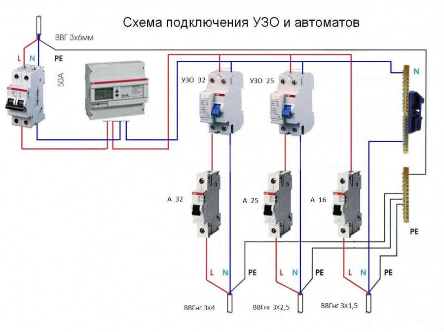 Как подобрать узо и автомат по мощности – советы электрика