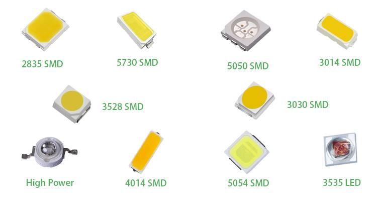 Светодиоды серии smd 5630 – технические характеристики и виды использования