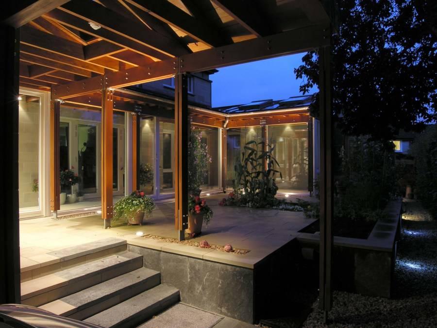 Освещение на террасе: лучшие дизайнерские решения